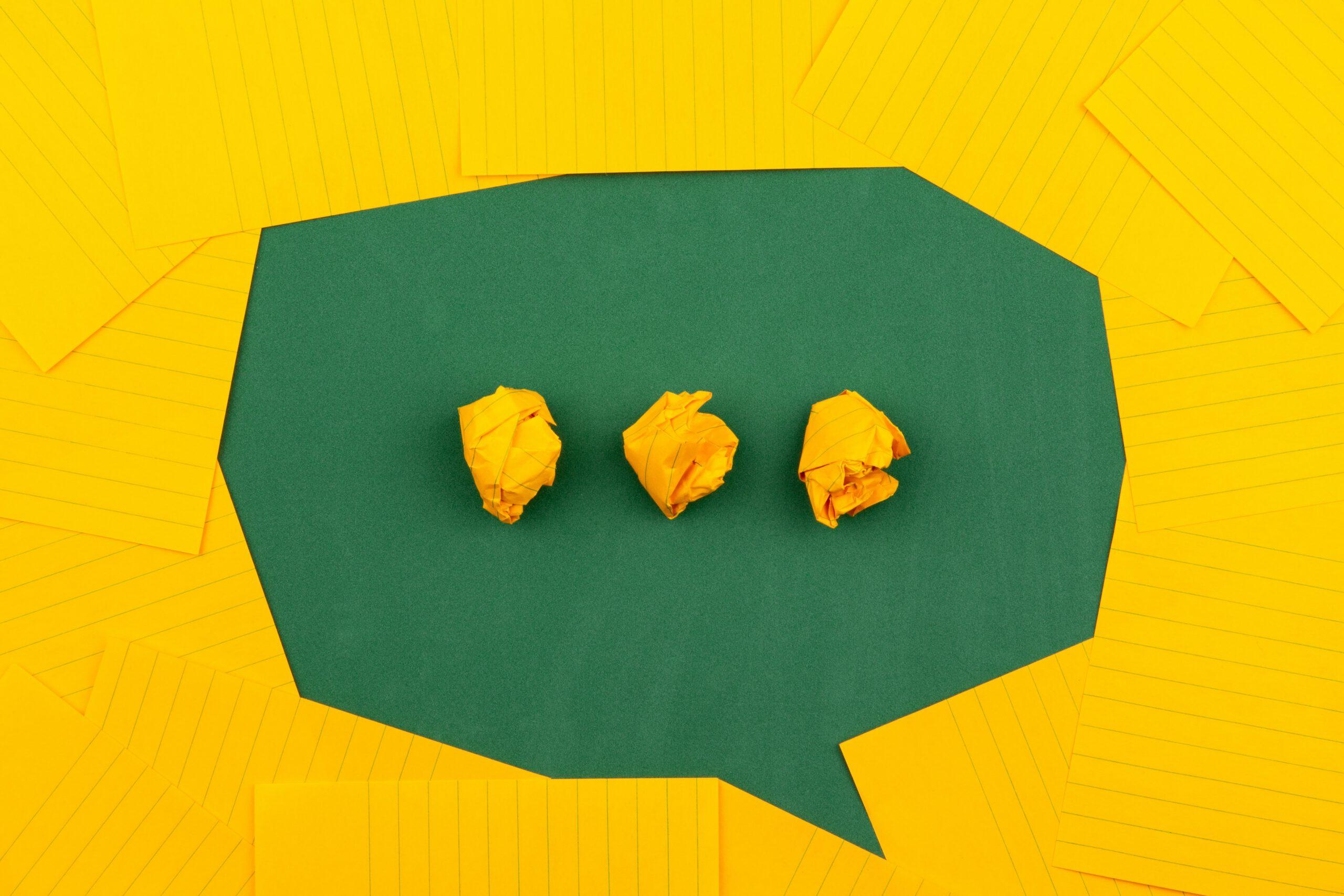Gedachtenwolkje: zet je ideeën op papier in een nieuwsbrief met e-mailmarketingprogramma MailerLite